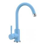 Кухонный смеситель Blue Water Colorado голубой матовый