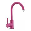 Кухонный смеситель Blue Water Colorado розовый матовый