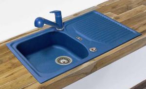 Кухонная мойка Teka Texina 45 B-TG темно-синий металлик
