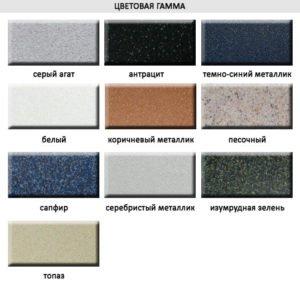 Цветовая гамма Teka