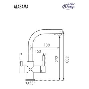 Схема Blue Water Alabama