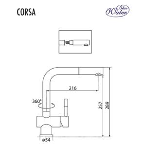 Схема Blue Water Corsa