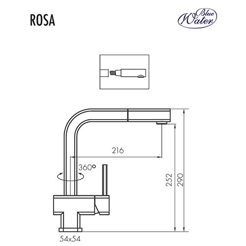 Схема Blue Water Rosa