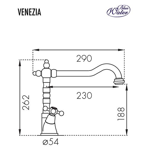 Схема Blue Water Venezia