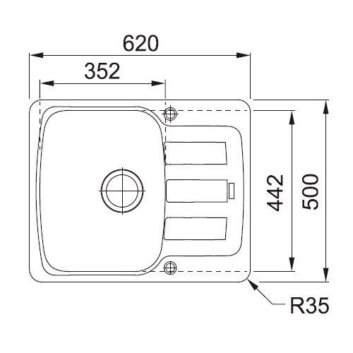Схема Franke AZG-611-62