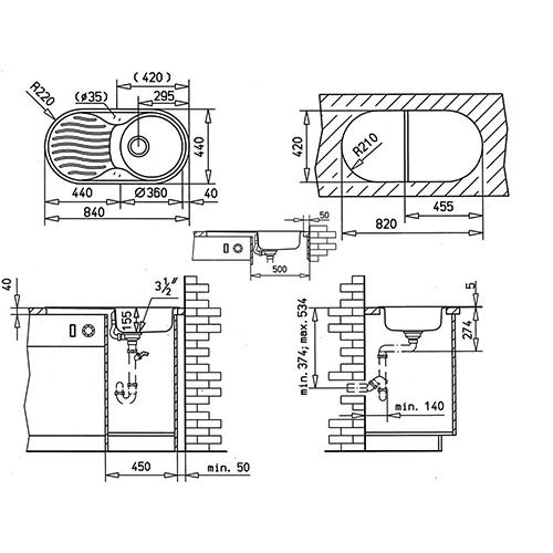 Схема Teka DR 80 1B 1D