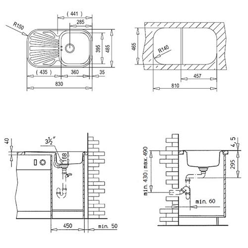 Схема Teka Stylo 1B 1D